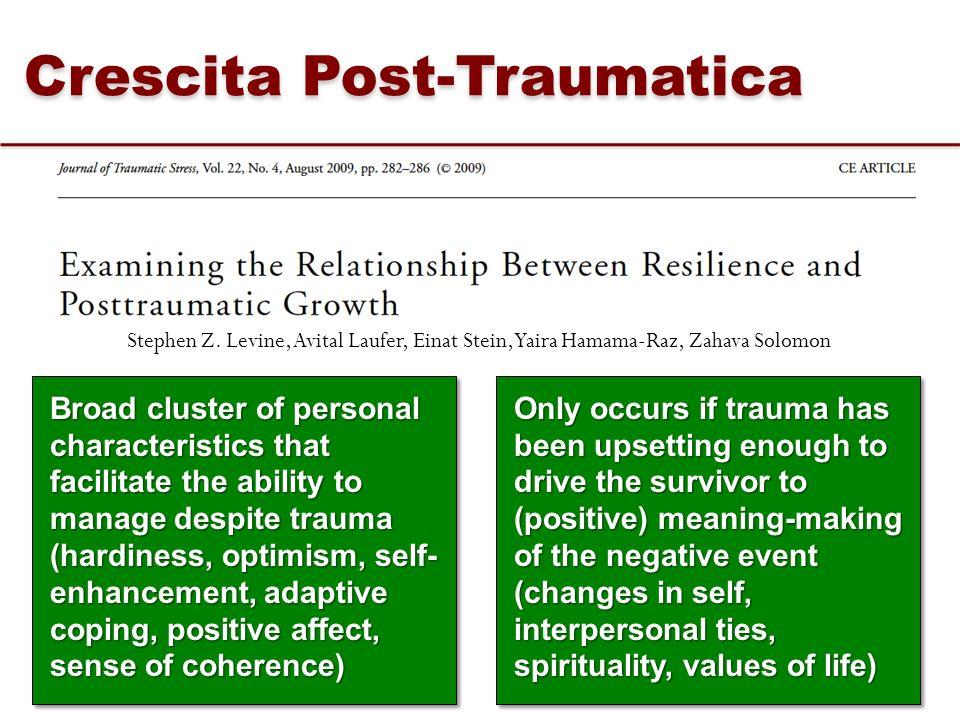 Crescita Post-Traumatica