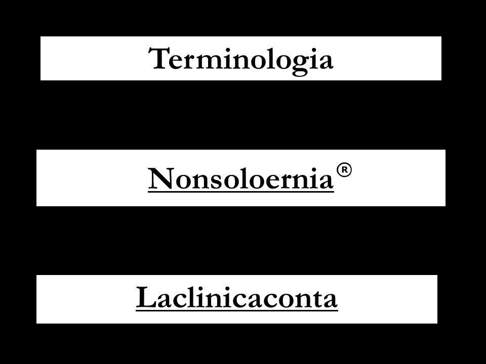 Terminologia Nonsoloernia Laclinicaconta