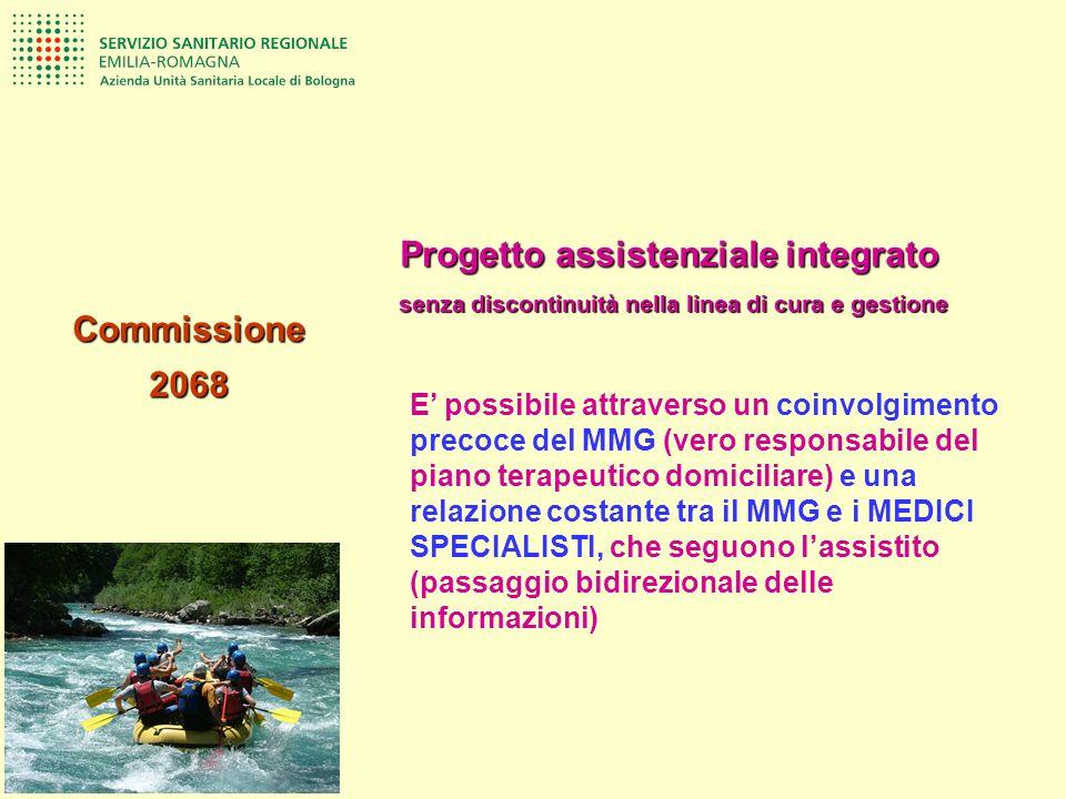 Commissione 2068 Progetto assistenziale integrato