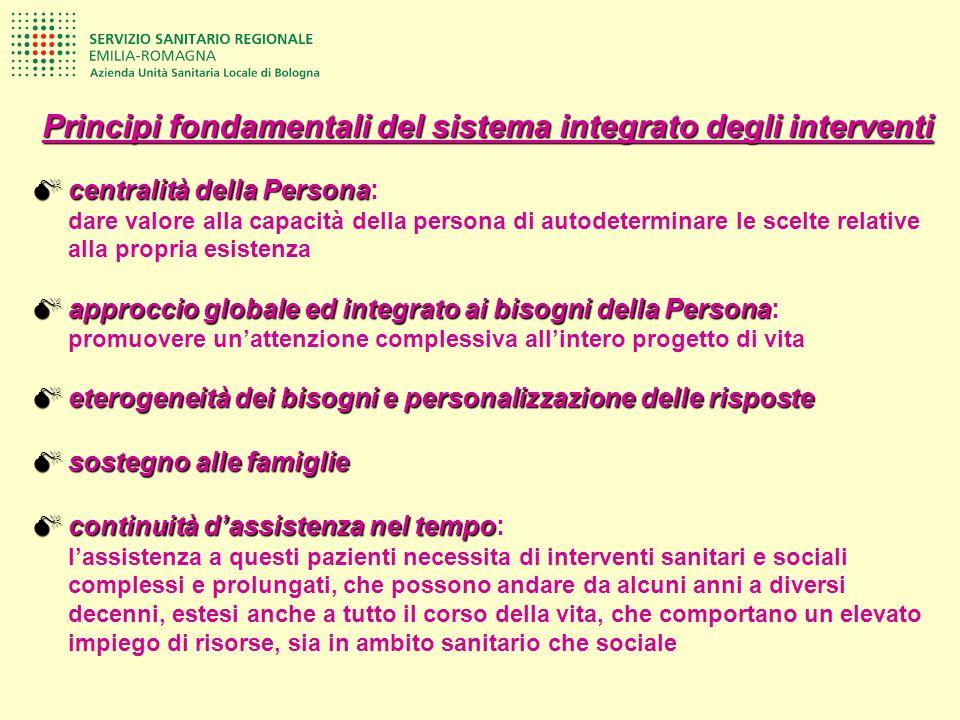 Principi fondamentali del sistema integrato degli interventi