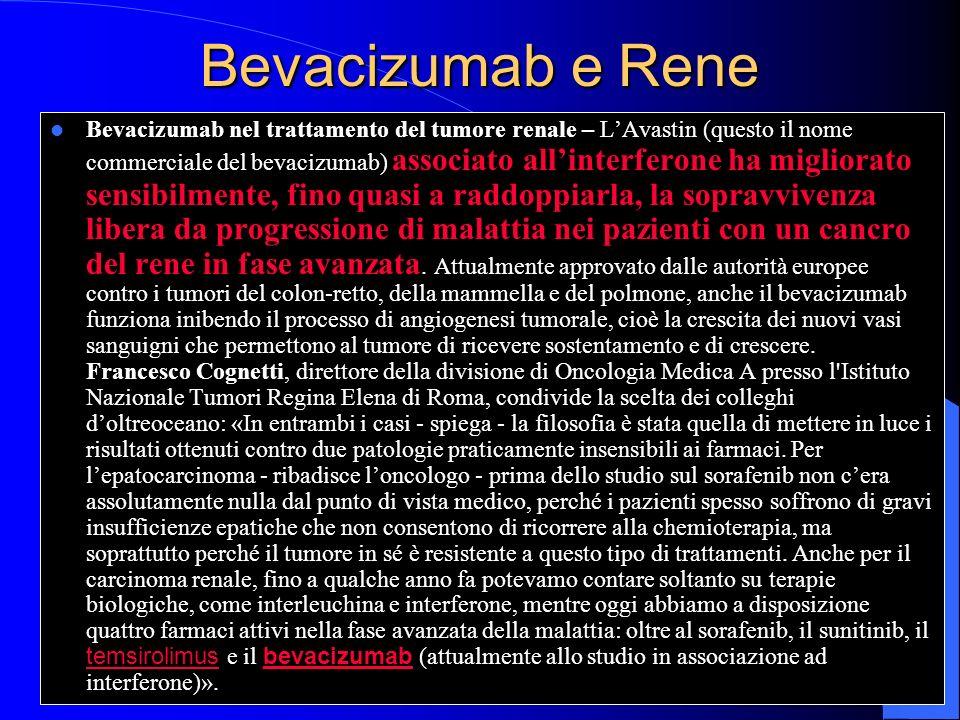 Bevacizumab e Rene