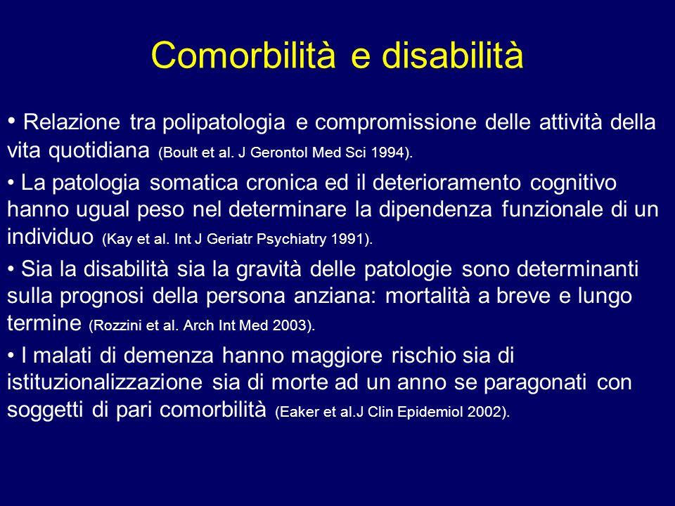 Comorbilità e disabilità