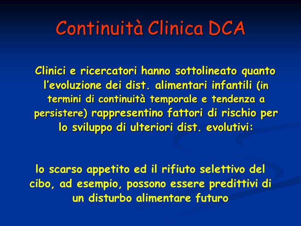 Continuità Clinica DCA
