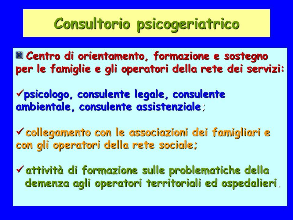 Consultorio psicogeriatrico