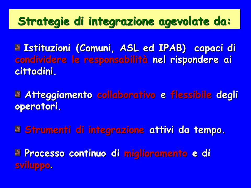 Strategie di integrazione agevolate da: