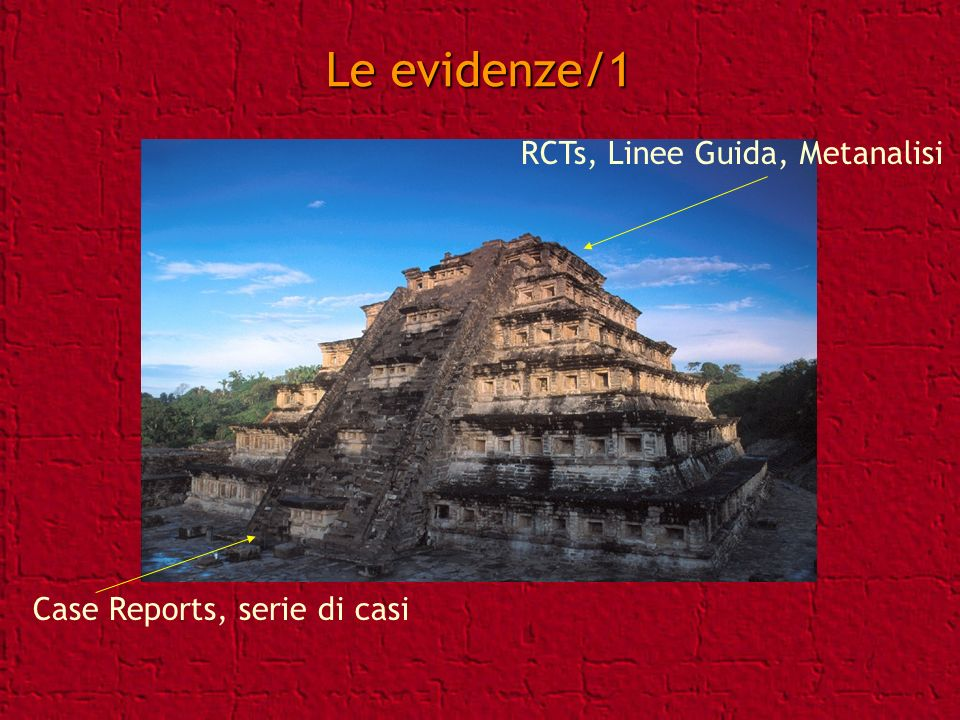 Le evidenze/1 RCTs, Linee Guida, Metanalisi