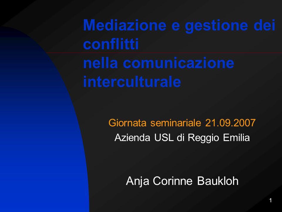 Mediazione e gestione dei conflitti nella comunicazione interculturale
