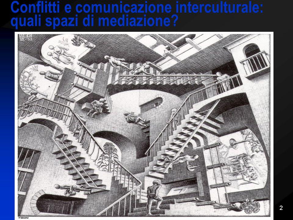Conflitti e comunicazione interculturale: quali spazi di mediazione