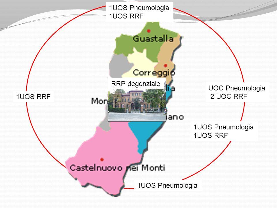 1UOS Pneumologia 1UOS RRF. RRP degenziale. UOC Pneumologia. 2 UOC RRF. 1UOS RRF. 1UOS Pneumologia.