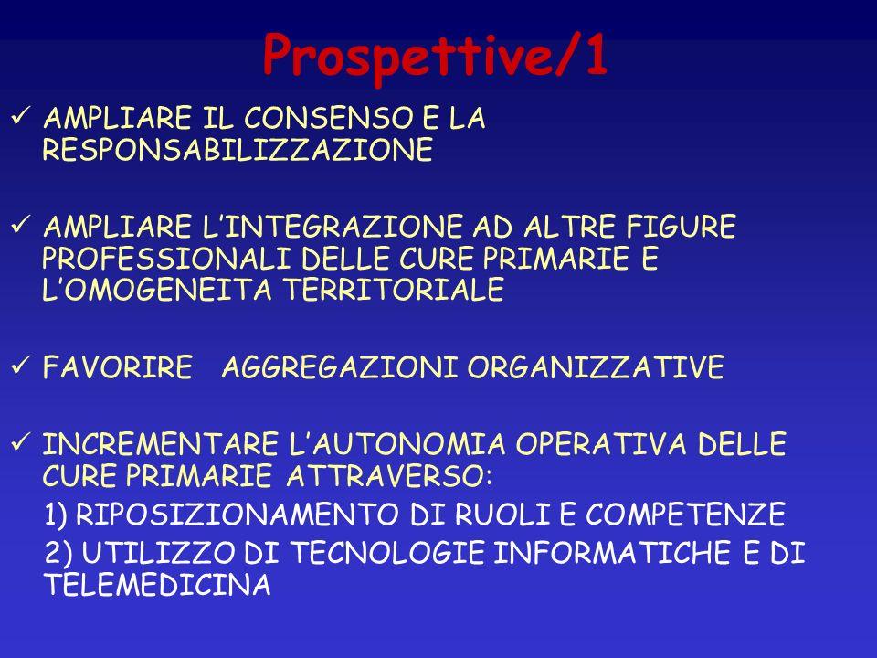 Prospettive/1 AMPLIARE IL CONSENSO E LA RESPONSABILIZZAZIONE