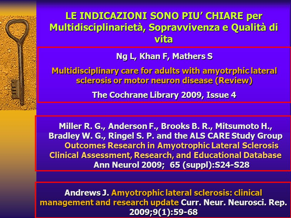 The Cochrane Library 2009, Issue 4 Ann Neurol 2009; 65 (suppl):S24-S28
