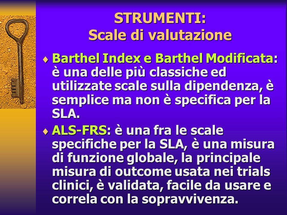 STRUMENTI: Scale di valutazione
