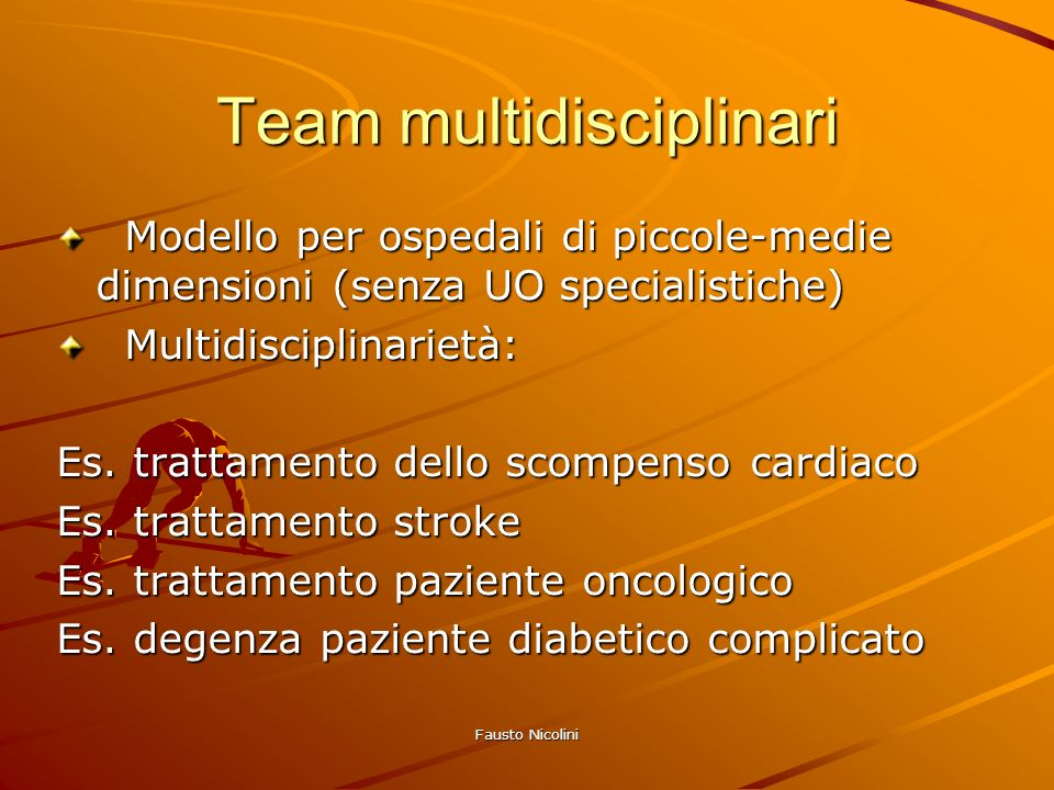 Team multidisciplinari