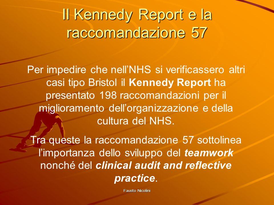 Il Kennedy Report e la raccomandazione 57