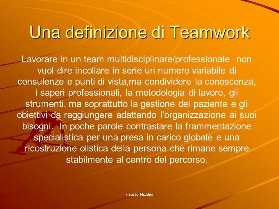 Una definizione di Teamwork