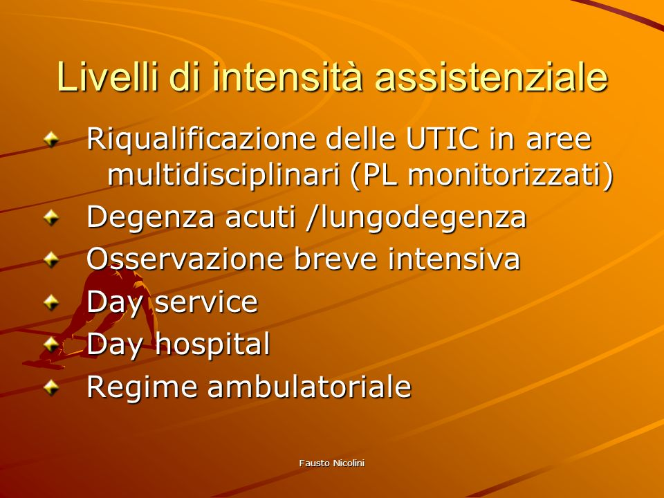 Livelli di intensità assistenziale