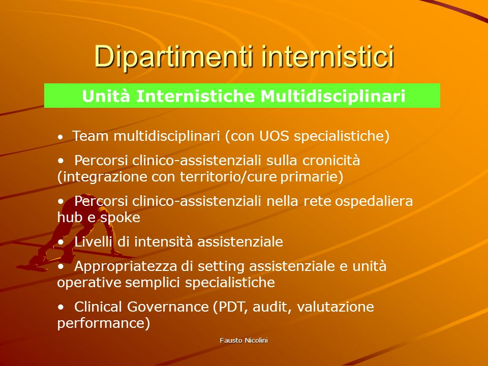 Dipartimenti internistici