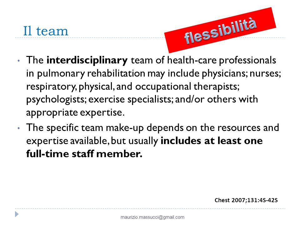 Il team flessibilità.