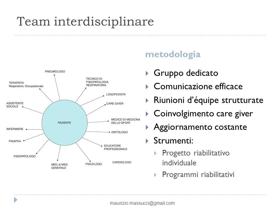 Team interdisciplinare