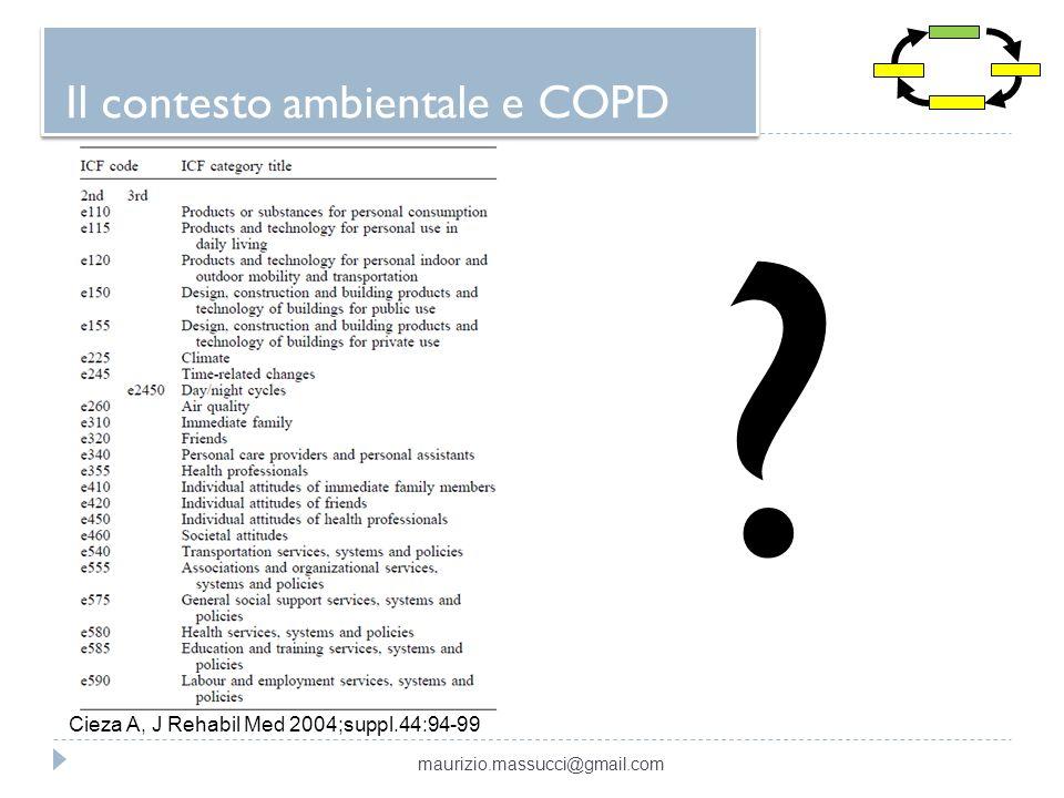 Il contesto ambientale e COPD