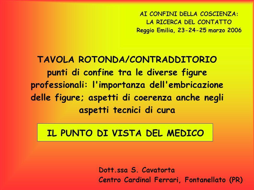 TAVOLA ROTONDA/CONTRADDITORIO