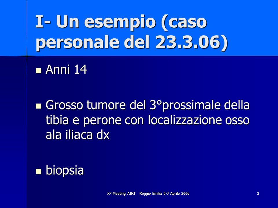 I- Un esempio (caso personale del 23.3.06)