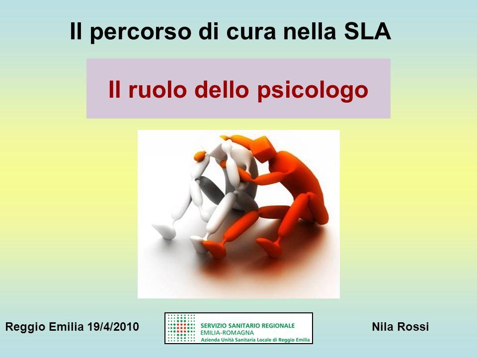 Il ruolo dello psicologo