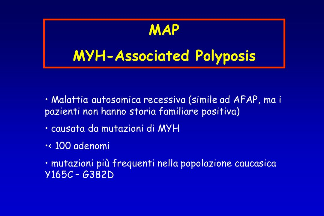 MYH-Associated Polyposis