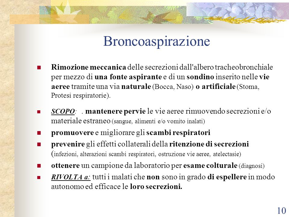 Broncoaspirazione