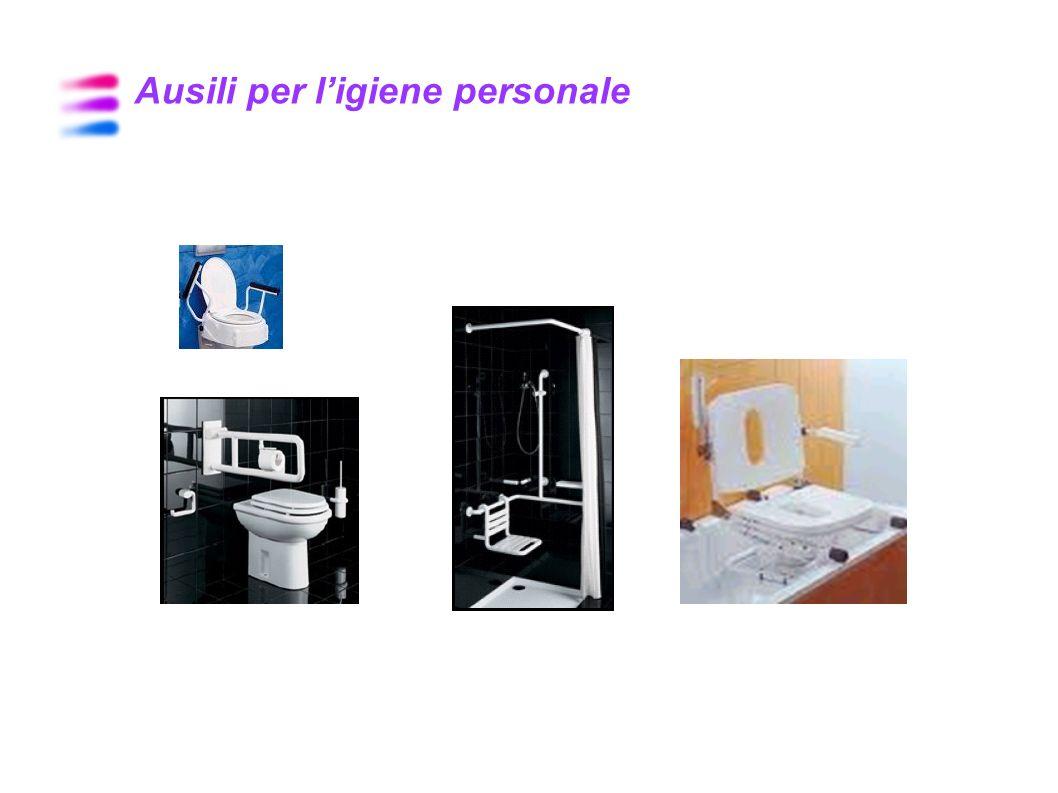 Ausili per l'igiene personale