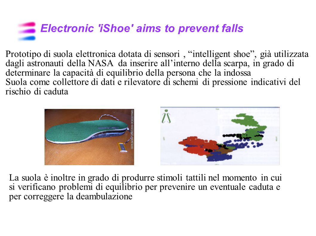 Electronic iShoe aims to prevent falls