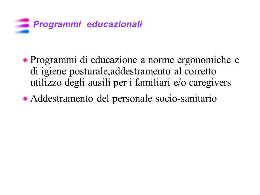 Programmi educazionali