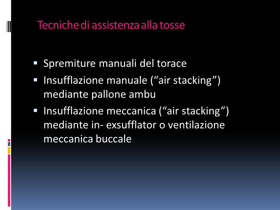 Tecniche di assistenza alla tosse