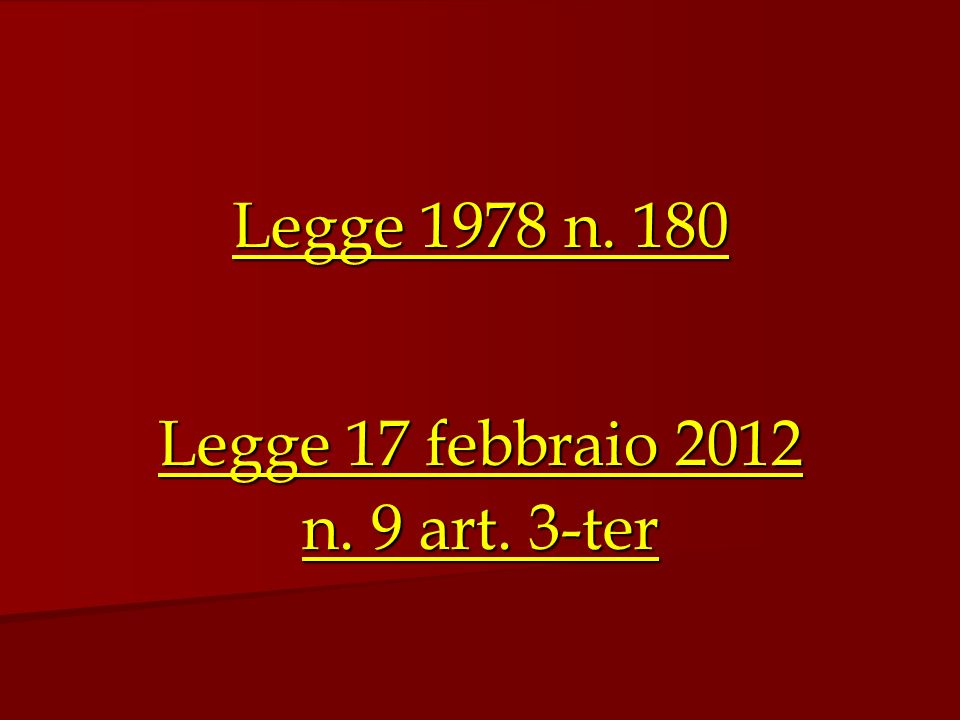 Legge 17 febbraio 2012 n. 9 art. 3-ter