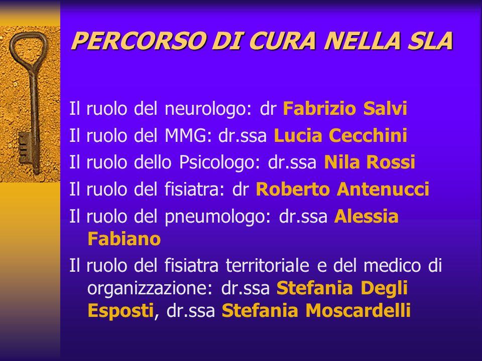 PERCORSO DI CURA NELLA SLA