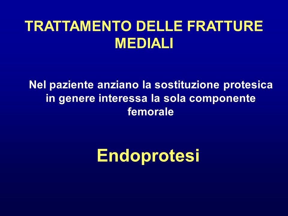 TRATTAMENTO DELLE FRATTURE MEDIALI
