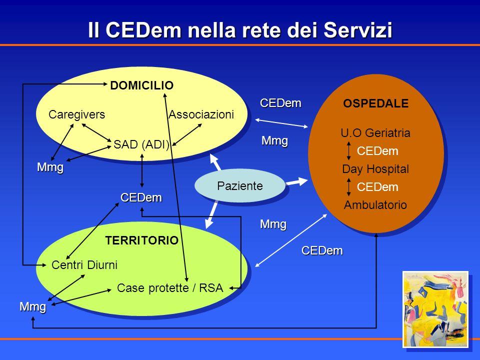 Il CEDem nella rete dei Servizi