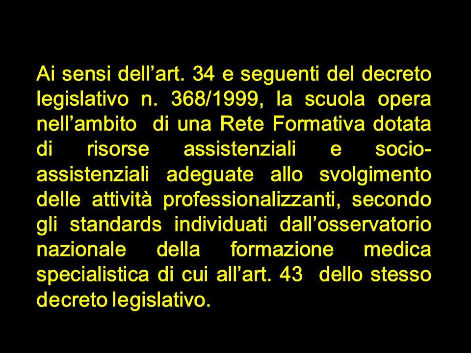 Ai sensi dell'art. 34 e seguenti del decreto legislativo n