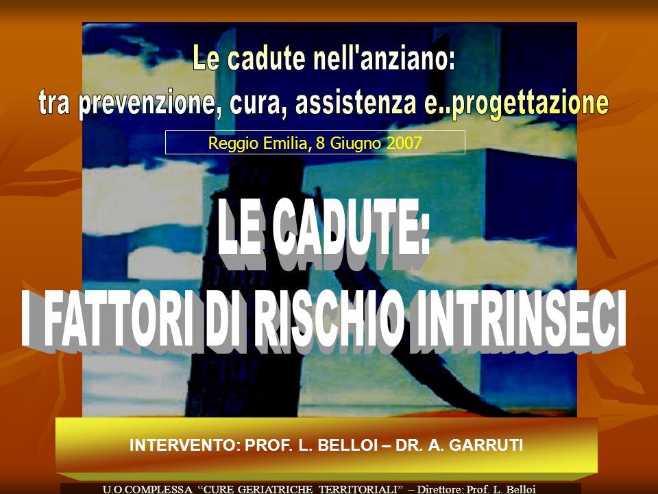 INTERVENTO: PROF. L. BELLOI – DR. A. GARRUTI