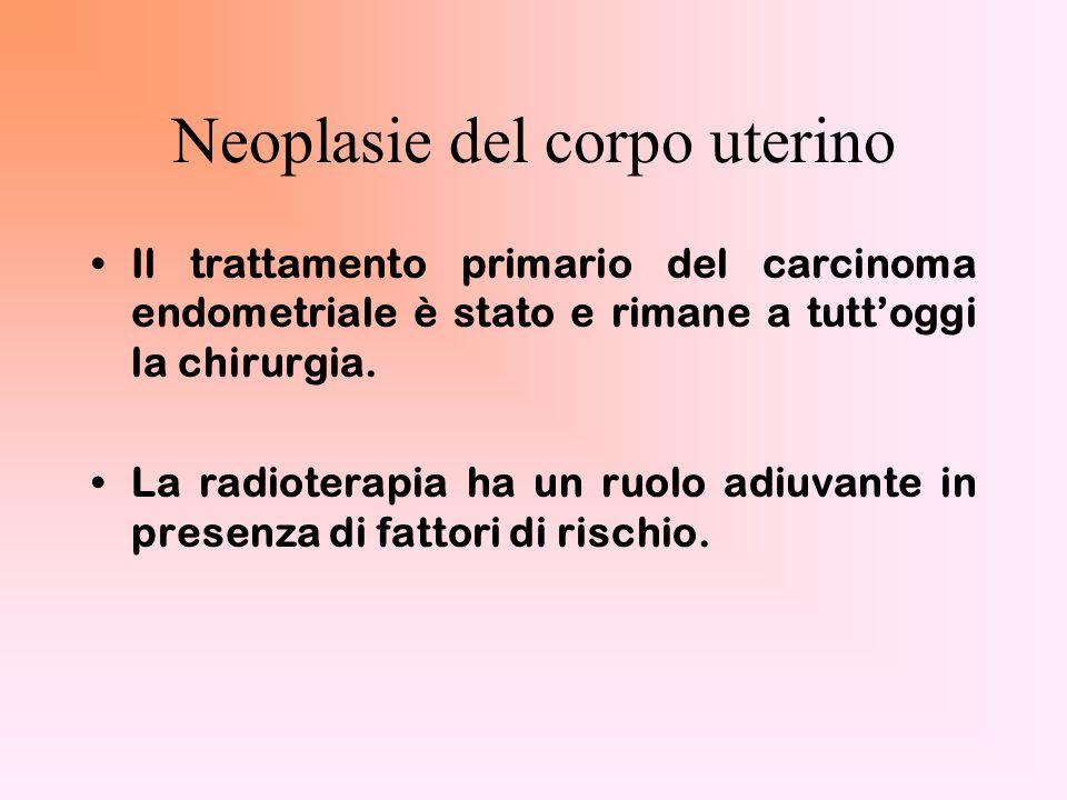 Neoplasie del corpo uterino