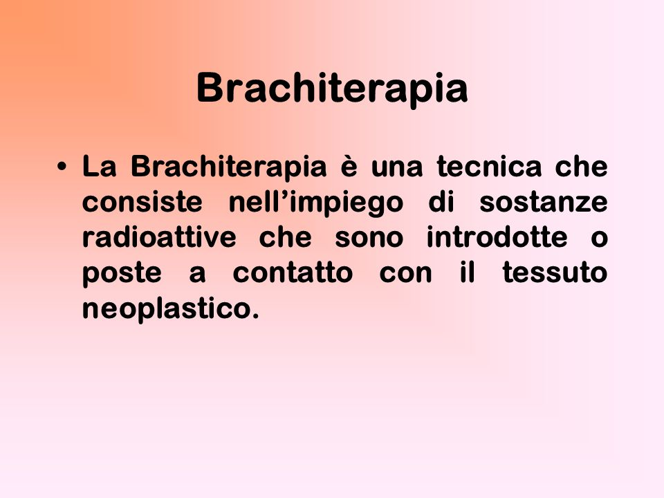 Brachiterapia