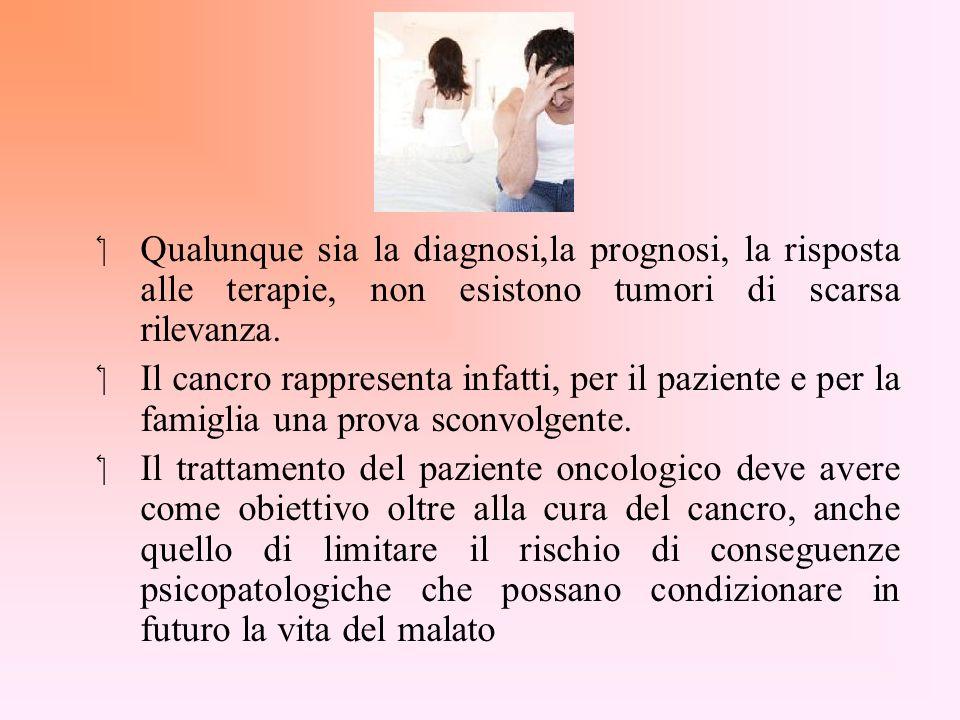 Qualunque sia la diagnosi,la prognosi, la risposta alle terapie, non esistono tumori di scarsa rilevanza.