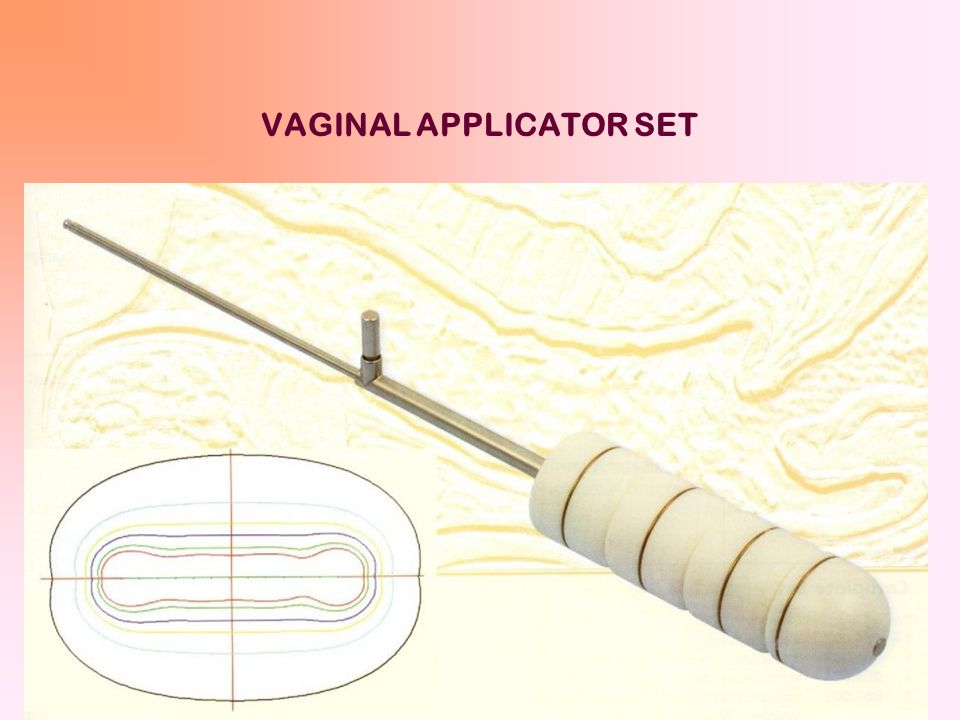 VAGINAL APPLICATOR SET
