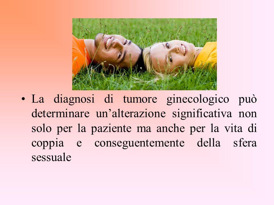 La diagnosi di tumore ginecologico può determinare un'alterazione significativa non solo per la paziente ma anche per la vita di coppia e conseguentemente della sfera sessuale