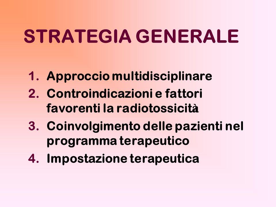 STRATEGIA GENERALE Approccio multidisciplinare