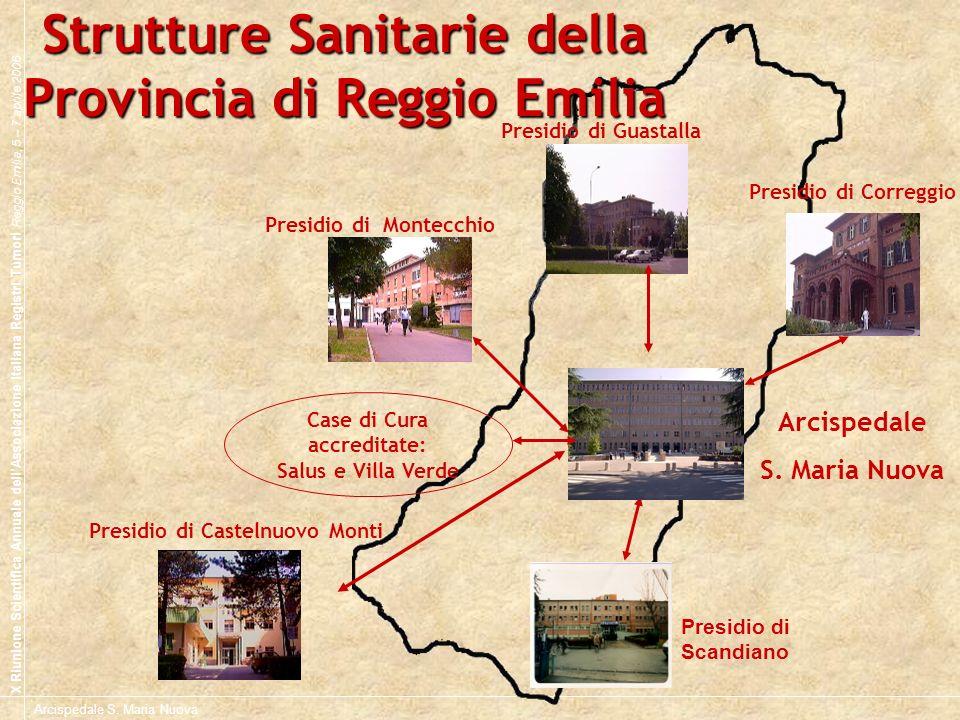 Strutture Sanitarie della Provincia di Reggio Emilia