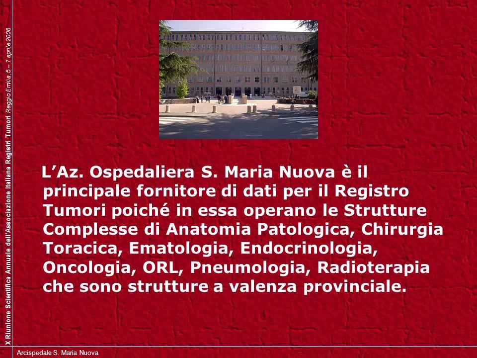 L'Az. Ospedaliera S.