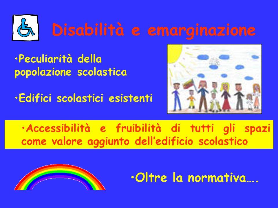 Disabilità e emarginazione
