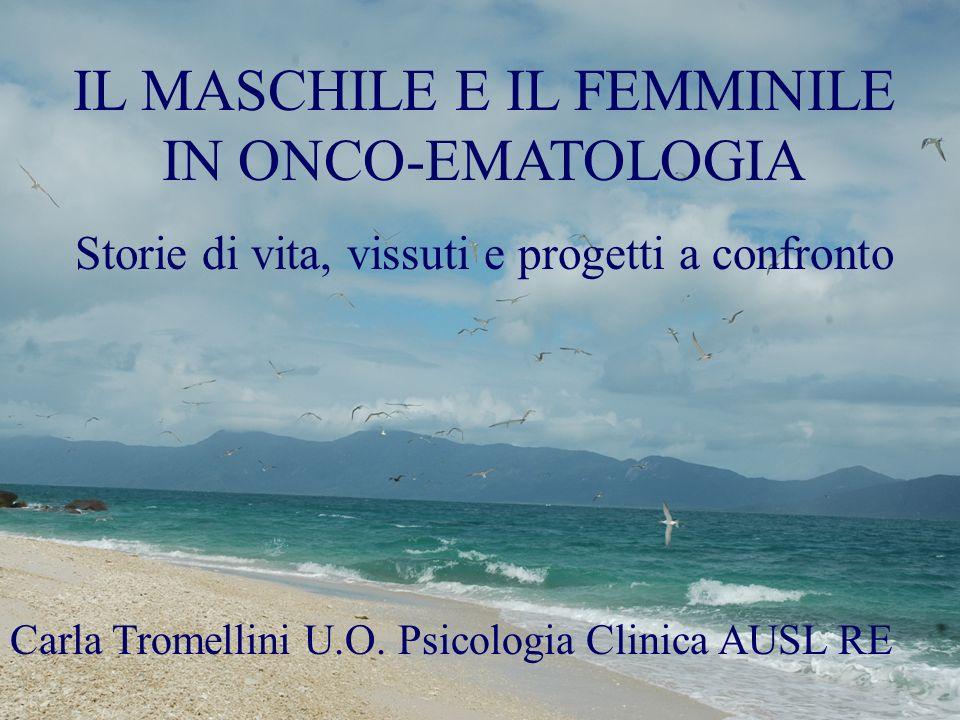 IL MASCHILE E IL FEMMINILE IN ONCO-EMATOLOGIA