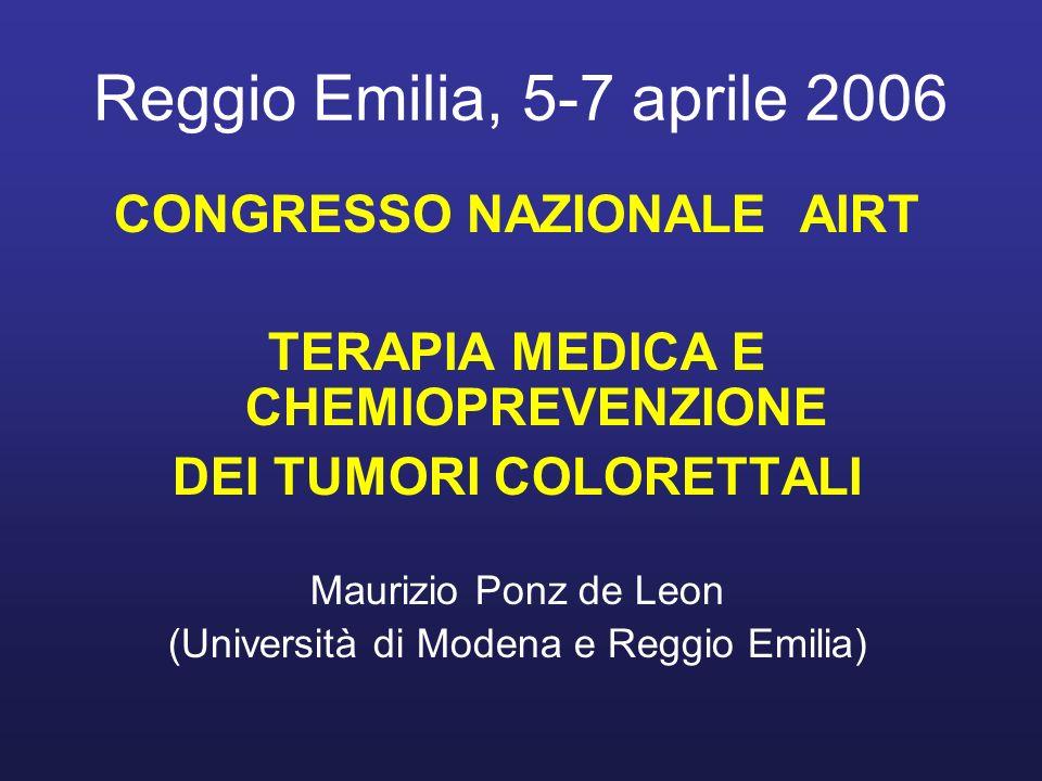 Reggio Emilia, 5-7 aprile 2006 CONGRESSO NAZIONALE AIRT